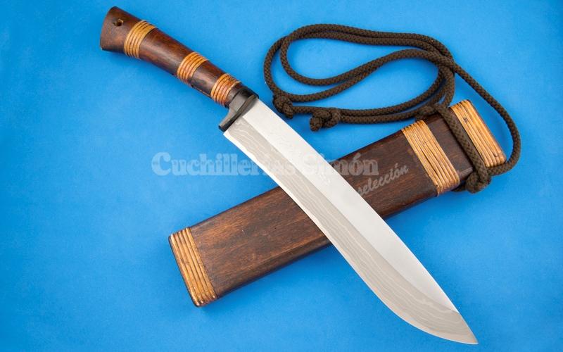 Cuchillo damast kamui largo cuchiller a sim n selecci n - Cuchillos y menaje ...