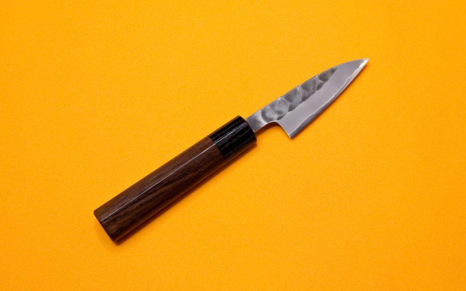 Cuchillo tricapa martilleado hinoura petty japones mango for Cuchillos japoneses tipos