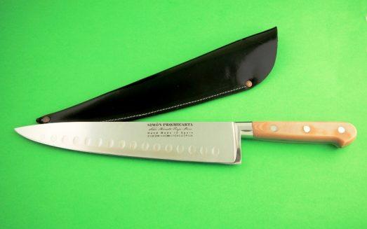 Cuchillo del cheff o cebolleo en acero forjado