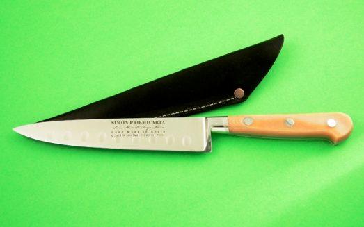 Cuchillo en acero forjado para verduras