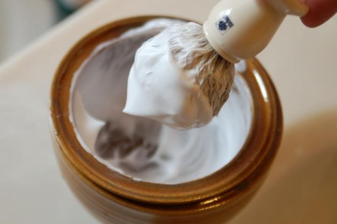 Brochas de afeitar de tejón
