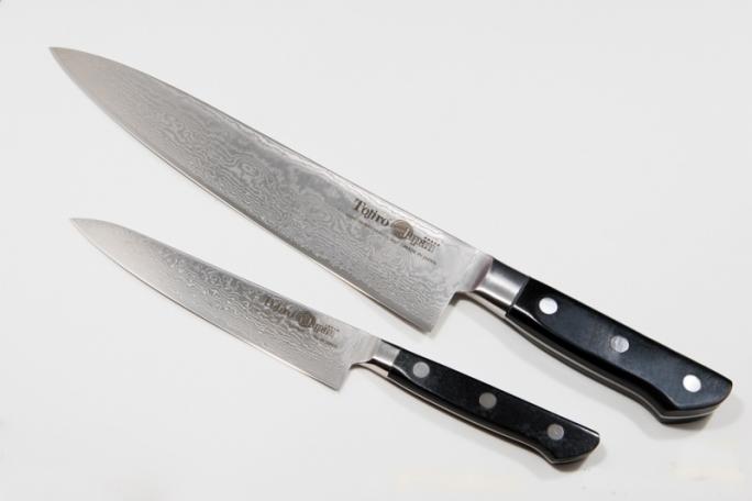 Cuchillos y tijeras de cocina amplio cat logo online - Cuchillo de cocina acero damasco ...
